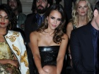 Jessica Alba Versace Haute Couture Fashion Show In Paris