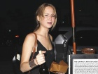 Jennifer Lawrence Out And About See Thru Candids In Santa Monica