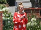 Miley Cyrus Out And About Candids In Toluca Lake