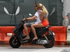Candice Swanepoel Out And About Candids In Miami