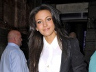 Michelle Keegan Inside Soap Awards In Manchester