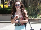 Madeline Carroll Out And About Candids In Vancouver