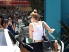 Miley Cyrus Leaving Pilates Class Candids In West Hollywood