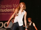 Bella Thorne Staples For Students School Supply Drive In Universal City