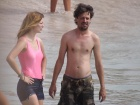 Mischa Barton Beach Vacation Candids In Spain