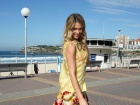 Jennifer Hawkins Lovable Launch Event At Bondi Beach