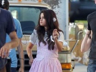 Selena Gomez Feed The Dog Set Candids In Los Angeles