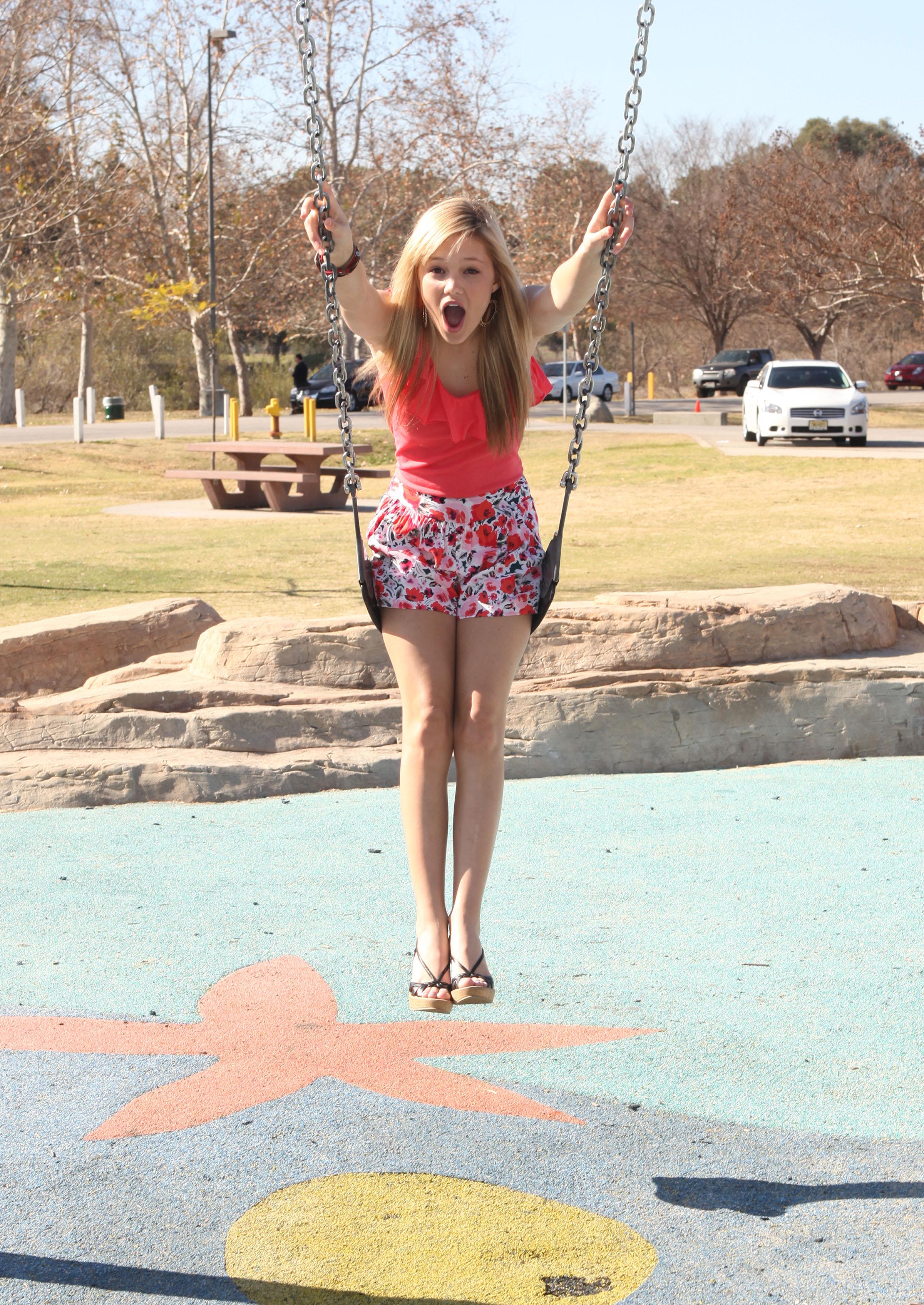 Olivia Holt Feet