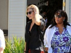 Elisha Cuthbert Out And About Candids In Brentwood