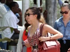 Nina Dobrev Out And About Candids In South Beach