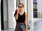 Jessica Alba Out And About Candids In Hollywood