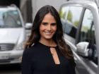 Jordana Brewster ITV Studios Departure Candids In London