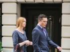 Kaylee DeFer Gossip Girl Set Candids In New York
