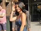 Olivia Munn Late Show With David Letterman Arrival And Departure Candids In New York