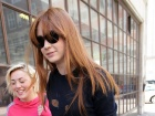 Karen Gillan BBC Radio 1 Studios Candids In London