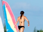 Natalie Portman Bikini Beach Vacation Candids In Turks And Caicos