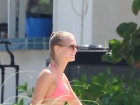 Erin Heatherton Bikini Beach Candids In Miami