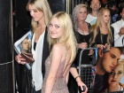 Dakota Fanning Now Is Good UK Premiere In London