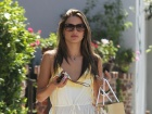 Alessandra Ambrosio Out And About Candids In Santa Monica