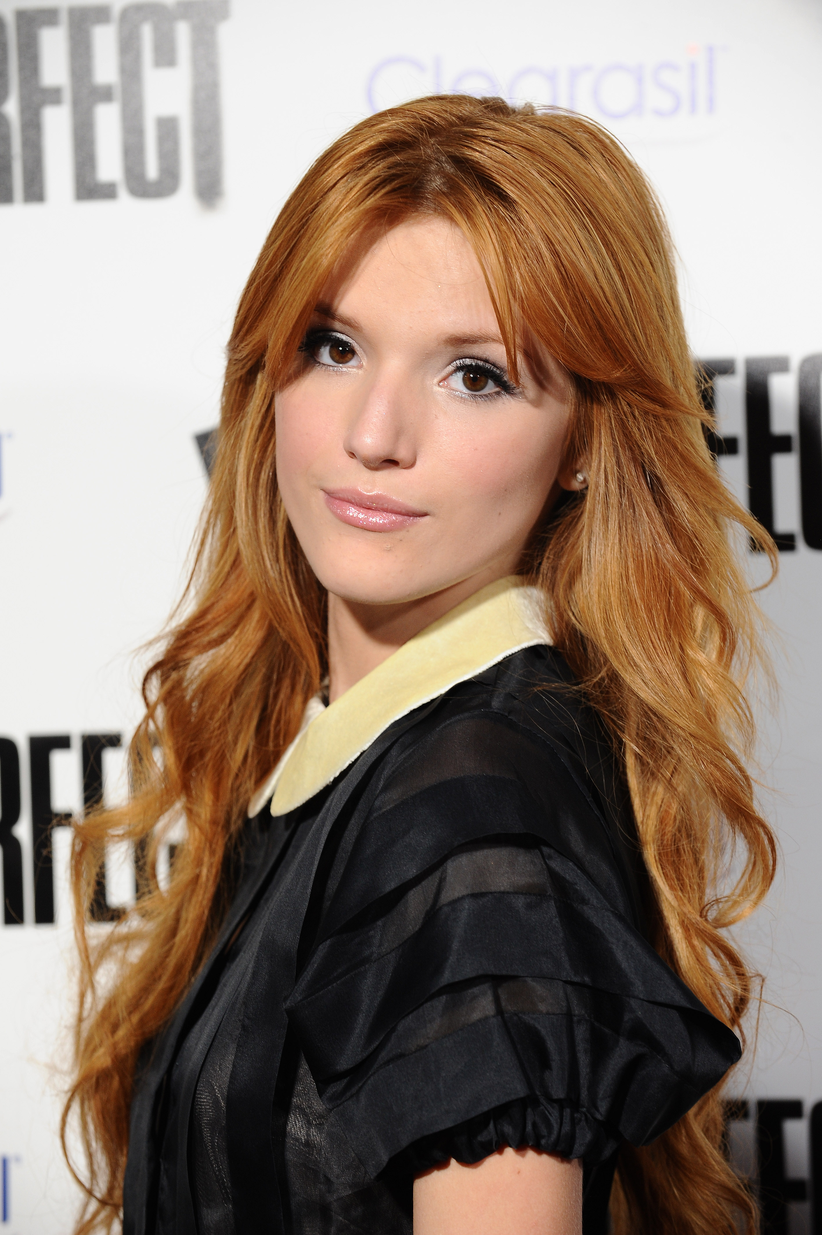 Bella Thorne attends the Hollywood movie premiere Pitch Perfect in ...