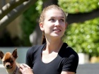 Nathalia Ramos Out And About Exercise Candids In Los Angeles