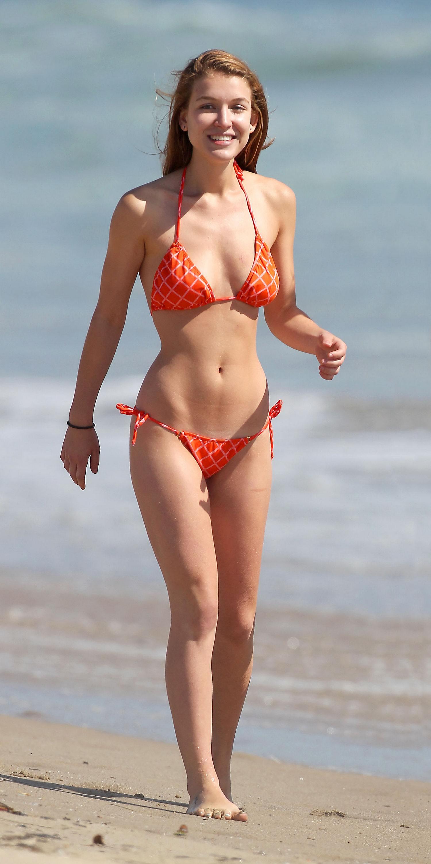 Nathalia Ramos Bikini Beach Candids In Santa Monica Anime Santa Man