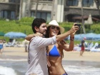 Ali Landry Bikini Beach Candids In Hawaii
