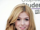 Katherine McNamara Staples For Students School Supply Drive In Universal City