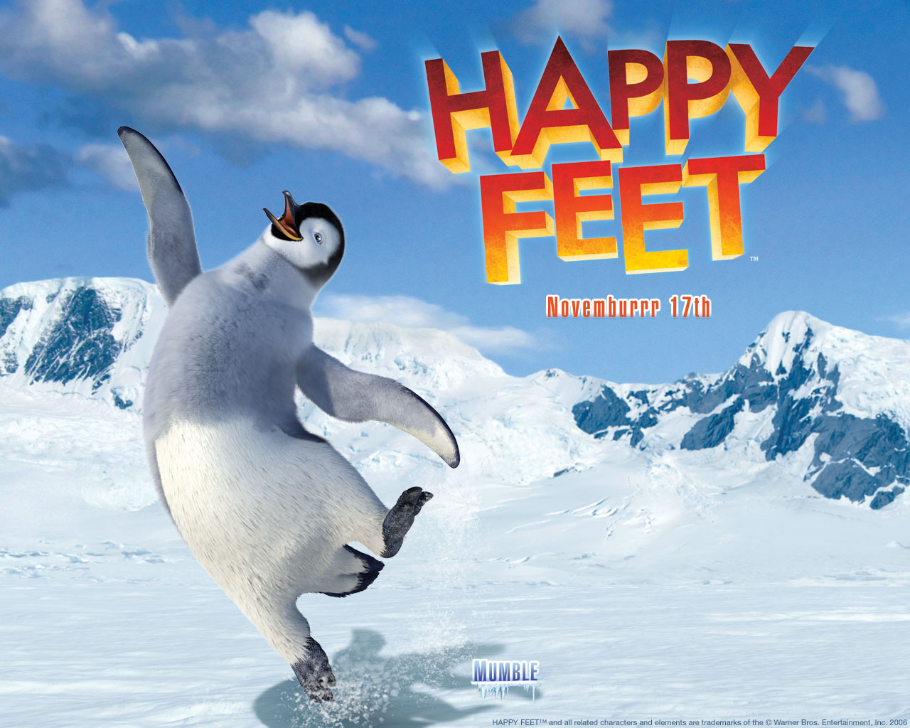 happy feet 007 | free desktop wallpapers for widescreen, hd and mobile