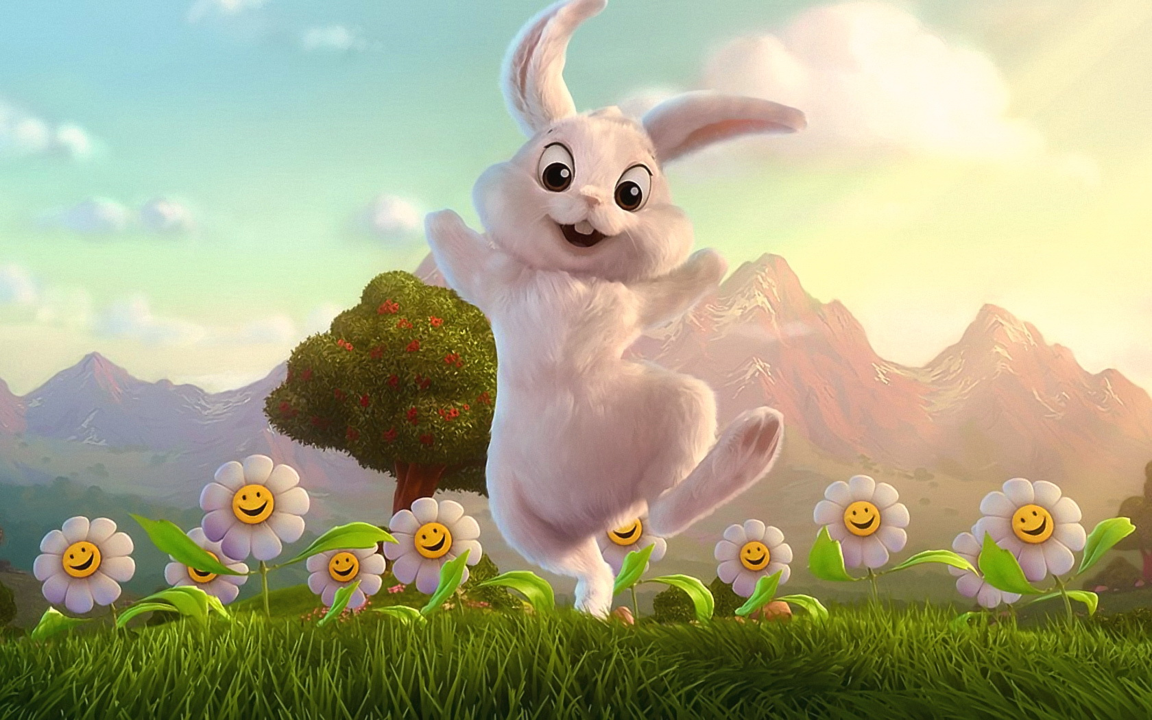 Eastern bunny free desktop wallpapers for widescreen hd and mobile wallpaper voltagebd Image collections