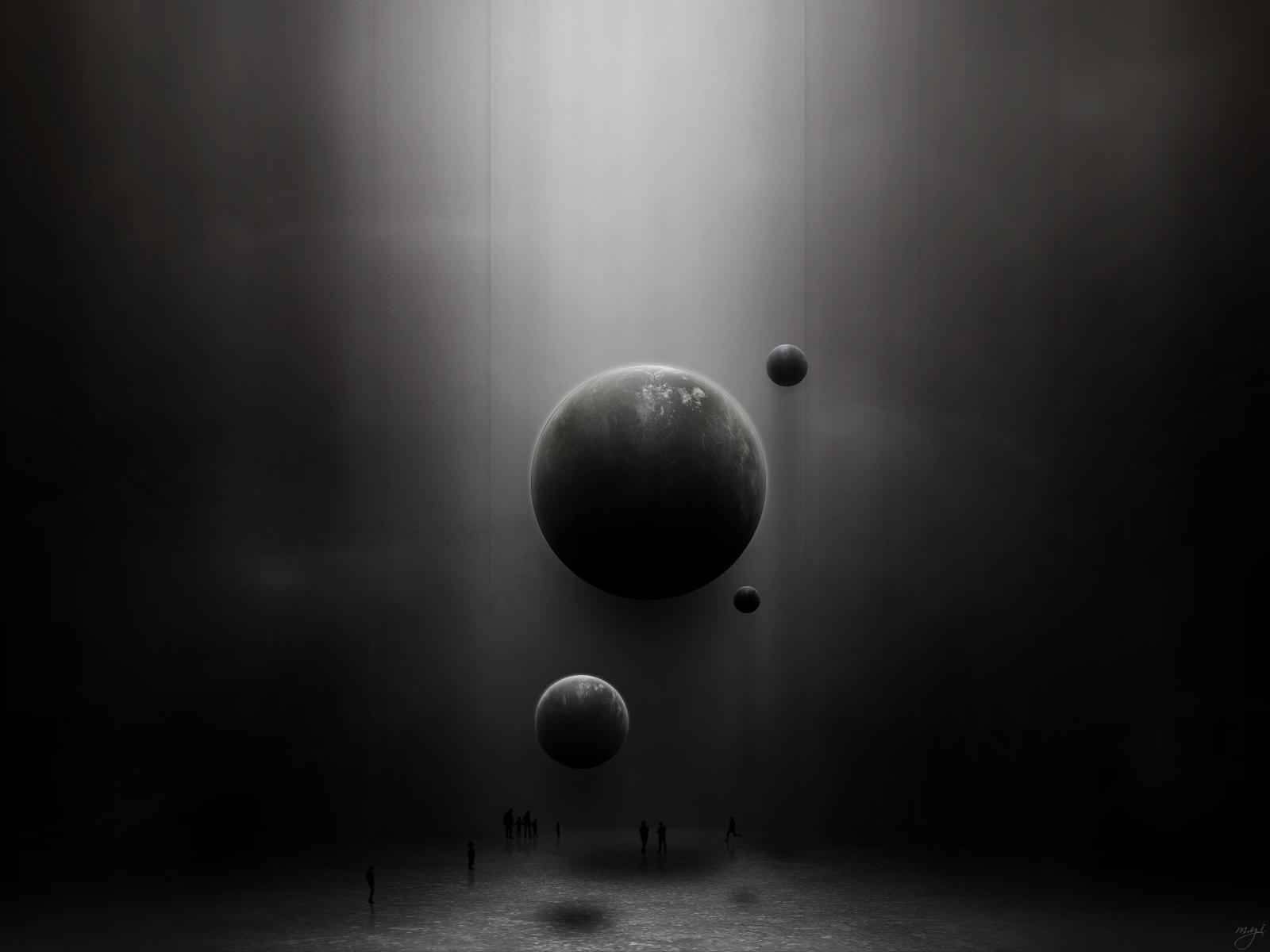 Gray Planets