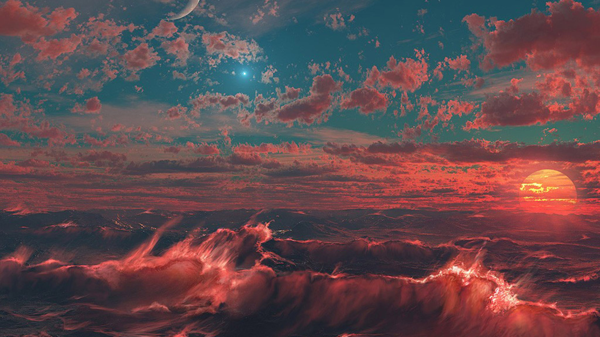 fantasy space art | free desktop wallpapers for widescreen, hd and