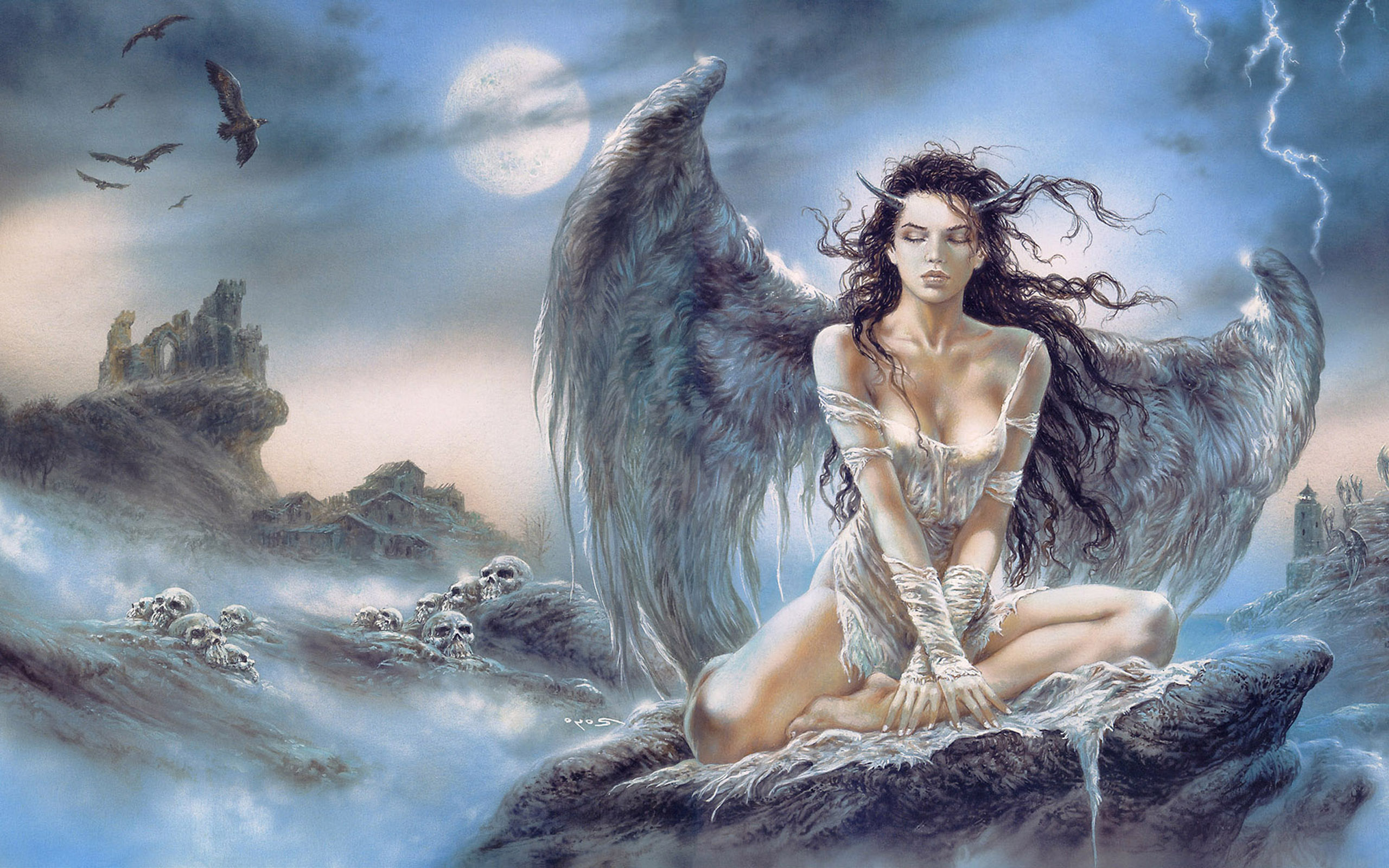 Fantasy woman free desktop wallpapers for widescreen hd and mobile voltagebd Gallery