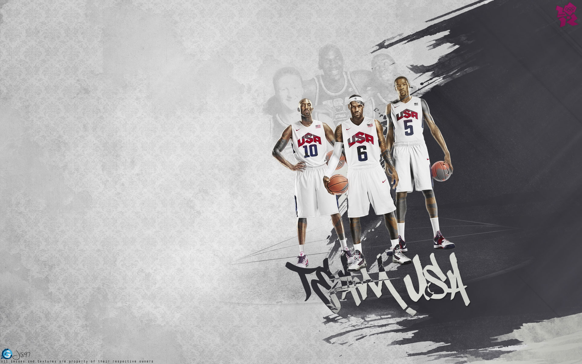 Kobe lebron durant2 usa dream team wallpaper basketwallpapers kobe lebron durant2 usa dream team wallpaper basketwallpapers free desktop wallpapers for widescreen hd and mobile voltagebd Images