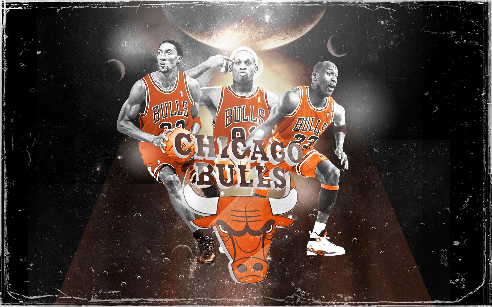 90s bulls big 3 widescreen wallpaper basketwallpapers free chicago bulls wallpapers voltagebd Image collections