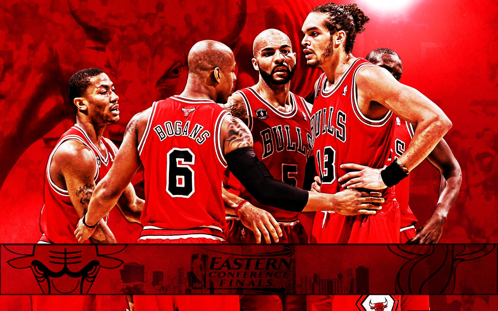 Chicago bulls1 nba conference finals widescreen wallpaper free chicago bulls wallpapers voltagebd Image collections