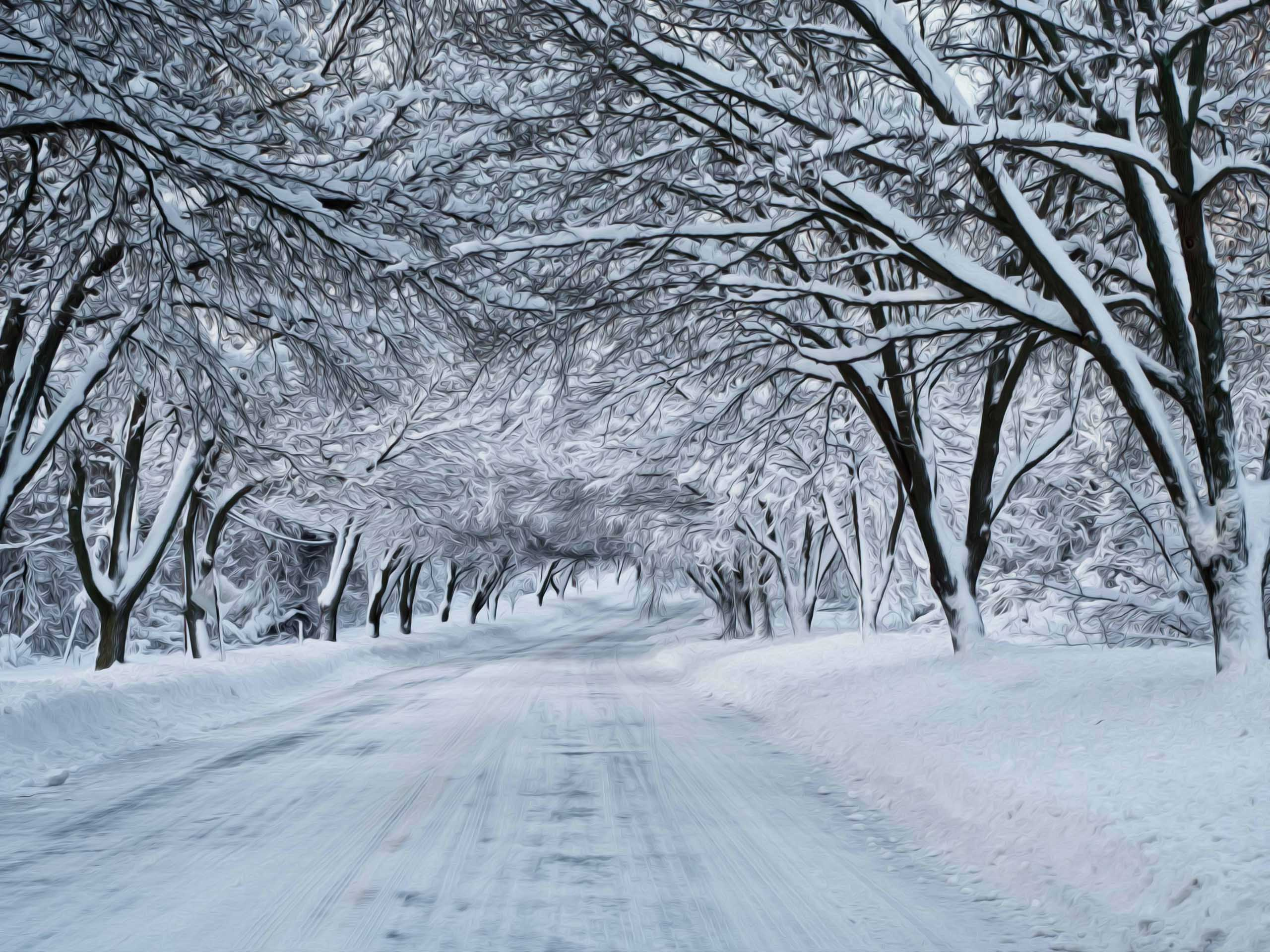Winter nature snow scene free desktop wallpapers for widescreen 4 mp voltagebd Choice Image