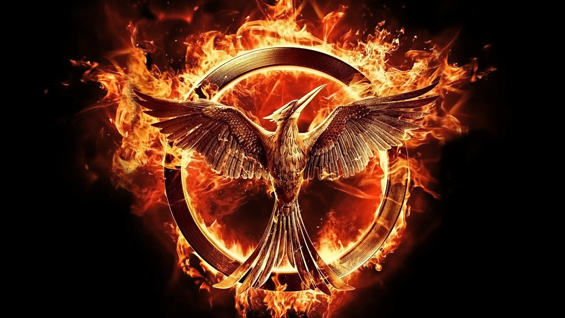 The hunger games mockingjay free desktop wallpapers for the hunger games mockingjay wallpapers voltagebd Image collections