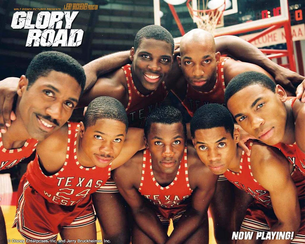 glory road movie Glory road (2006) after being appointed the new coach of the 1966 texas miners, don haskins (josh lucas) decides to build a team based on talent rather than race.