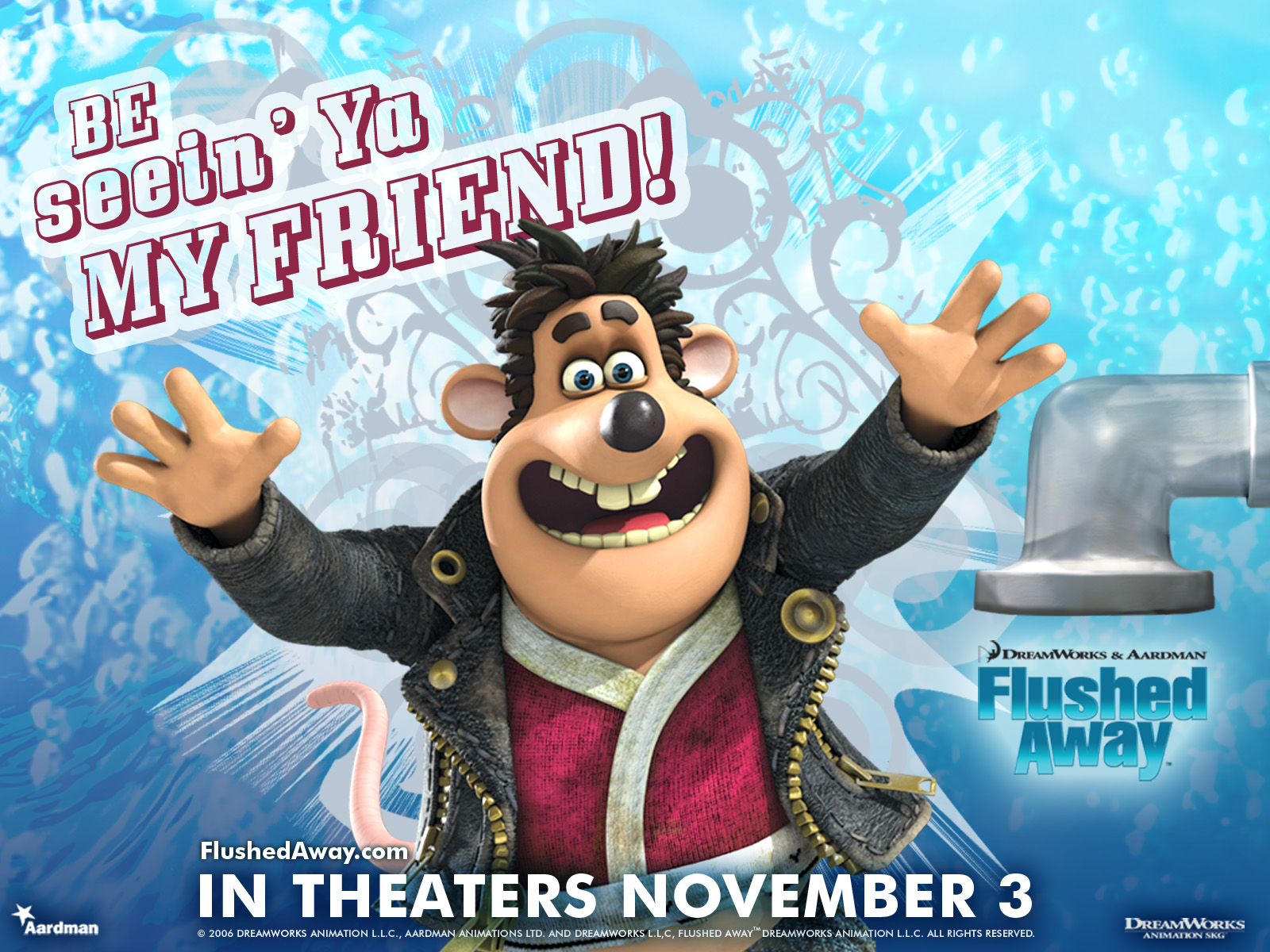 flushed away free desktop wallpapers for hd widescreen