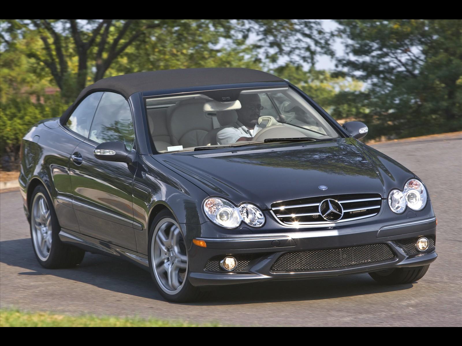 Mercedes Benz CLK550 Cabriolet 2009 01