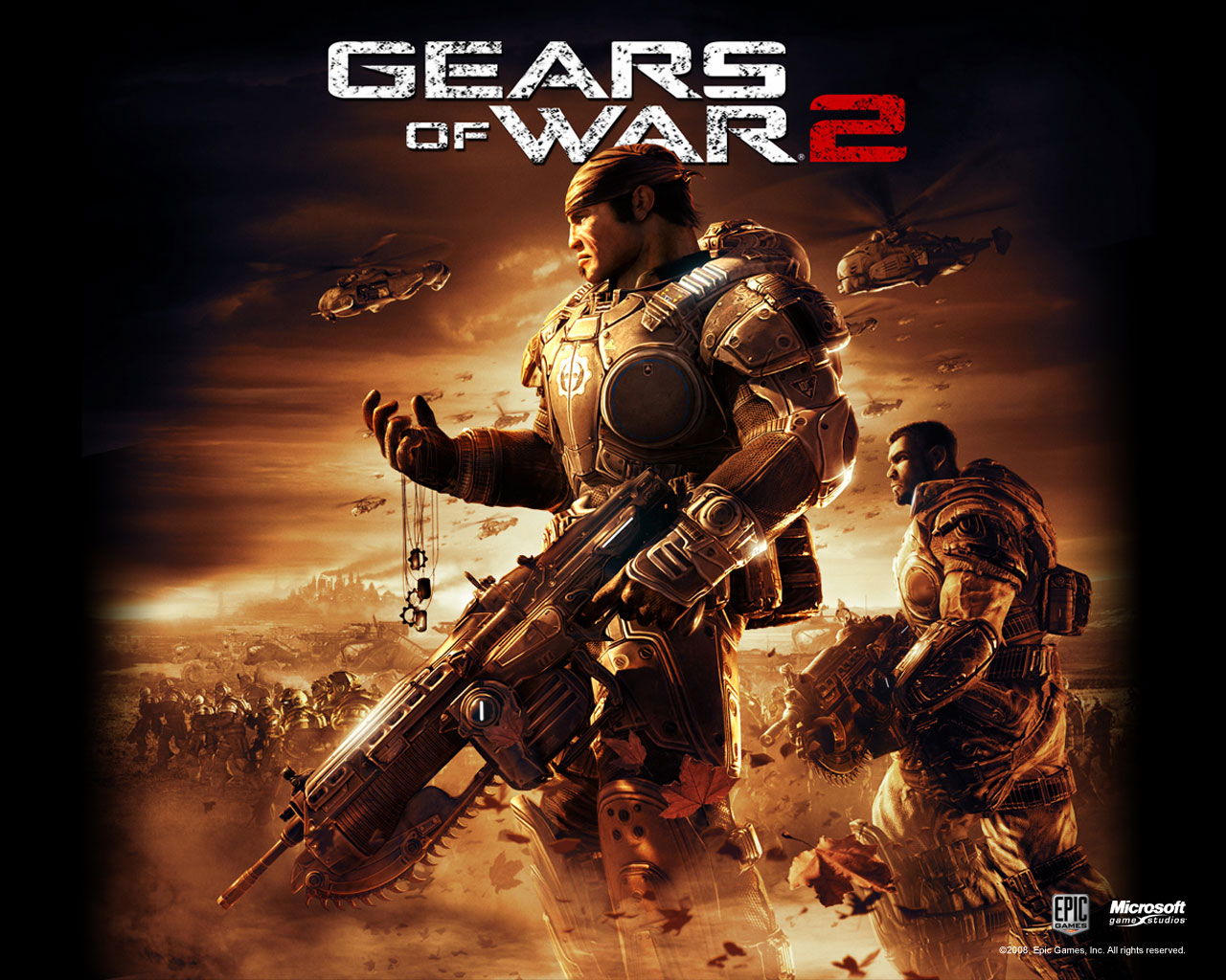 gears of war 2 004 | free desktop wallpapers for widescreen, hd and