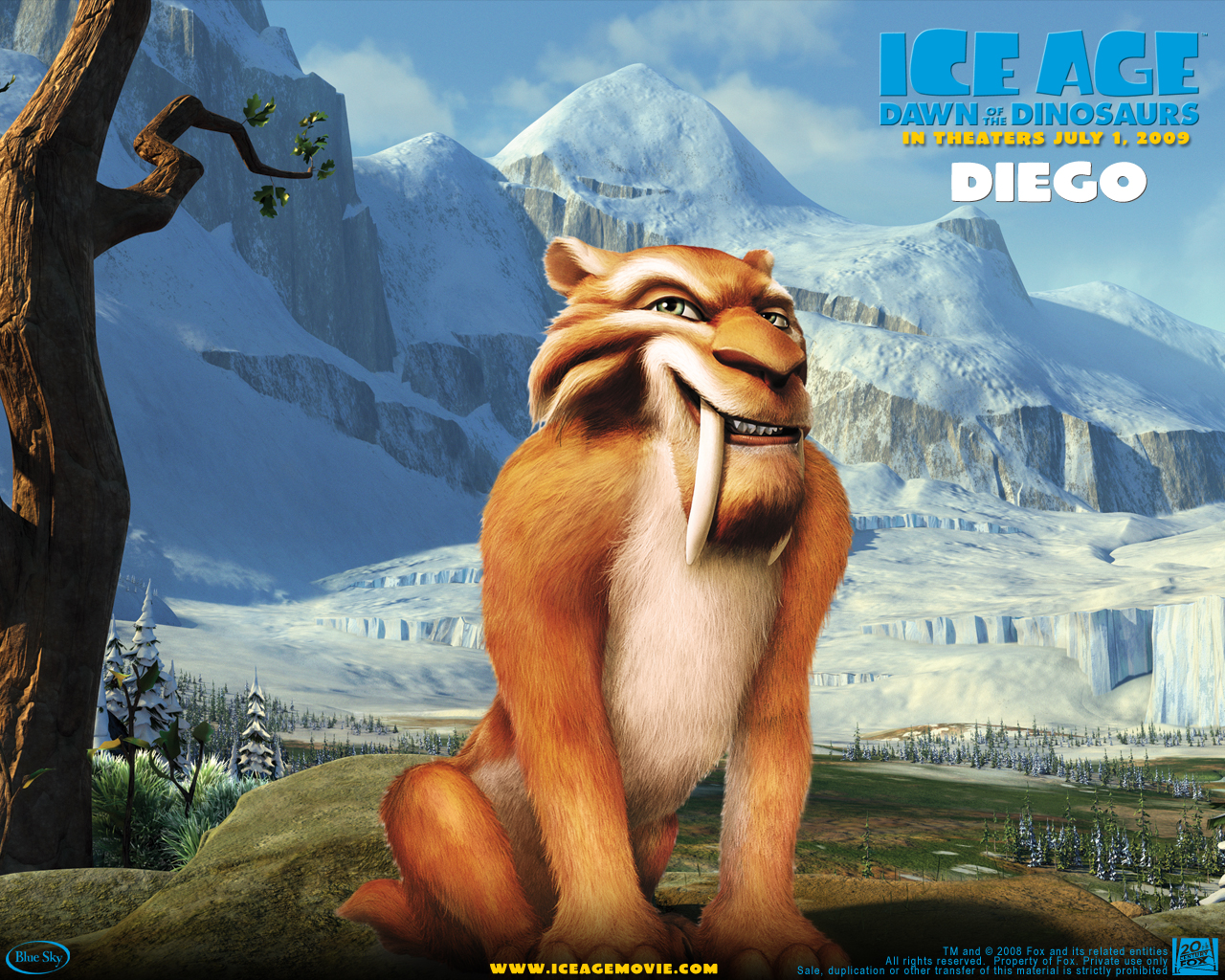 Ice Age - Dawn Of The Dinosaurs Wallpapers
