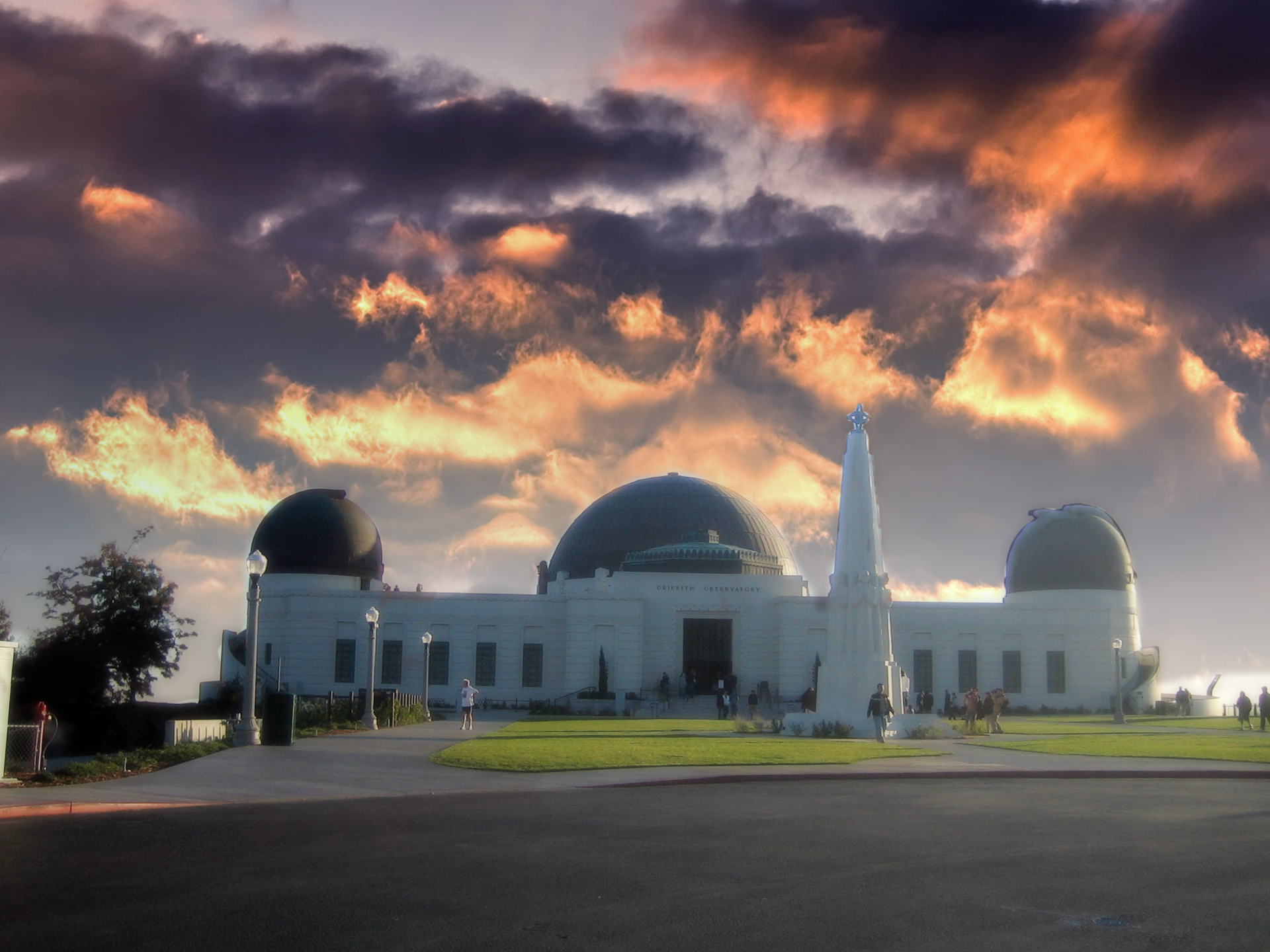 Griffith Observatory 003 Free Desktop Wallpapers For