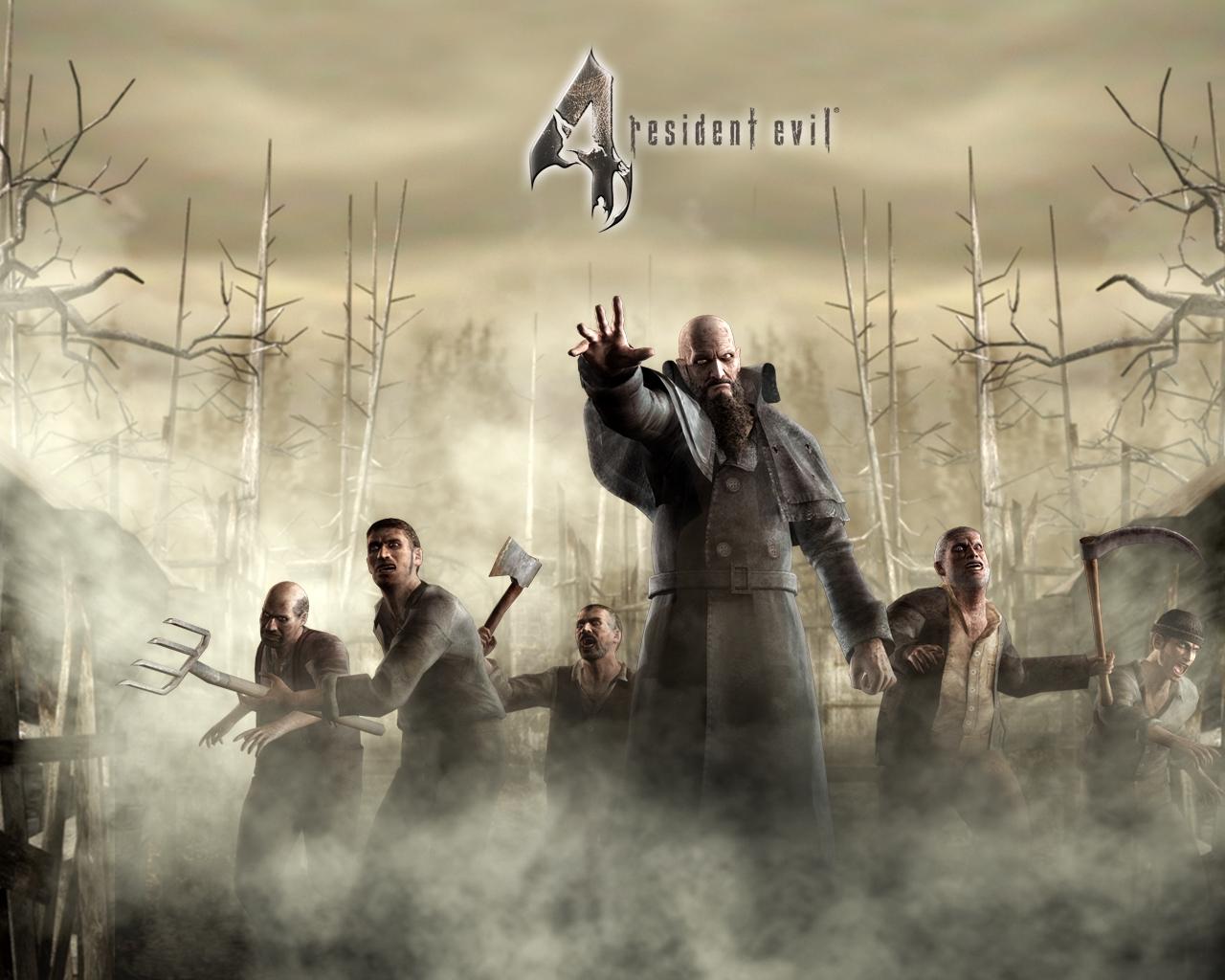 B Resident Evil 4/b Biohazard скачать бесплатно обои.