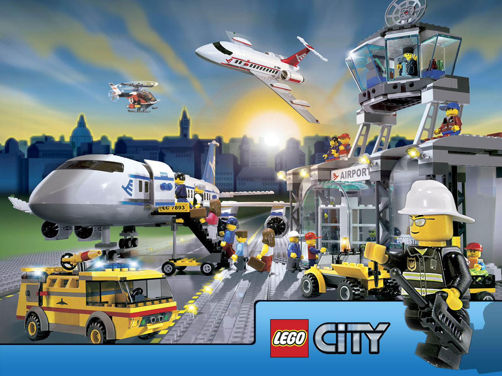 Lego City Wallpapers