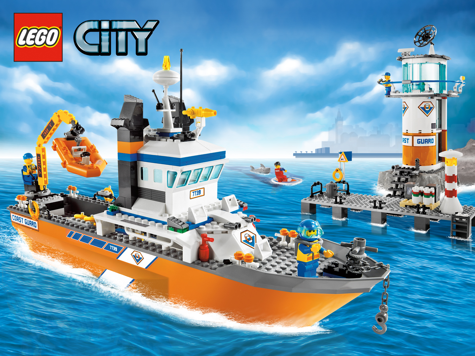 Lego City | Free Desktop Wallpapers for Widescreen, HD and ...