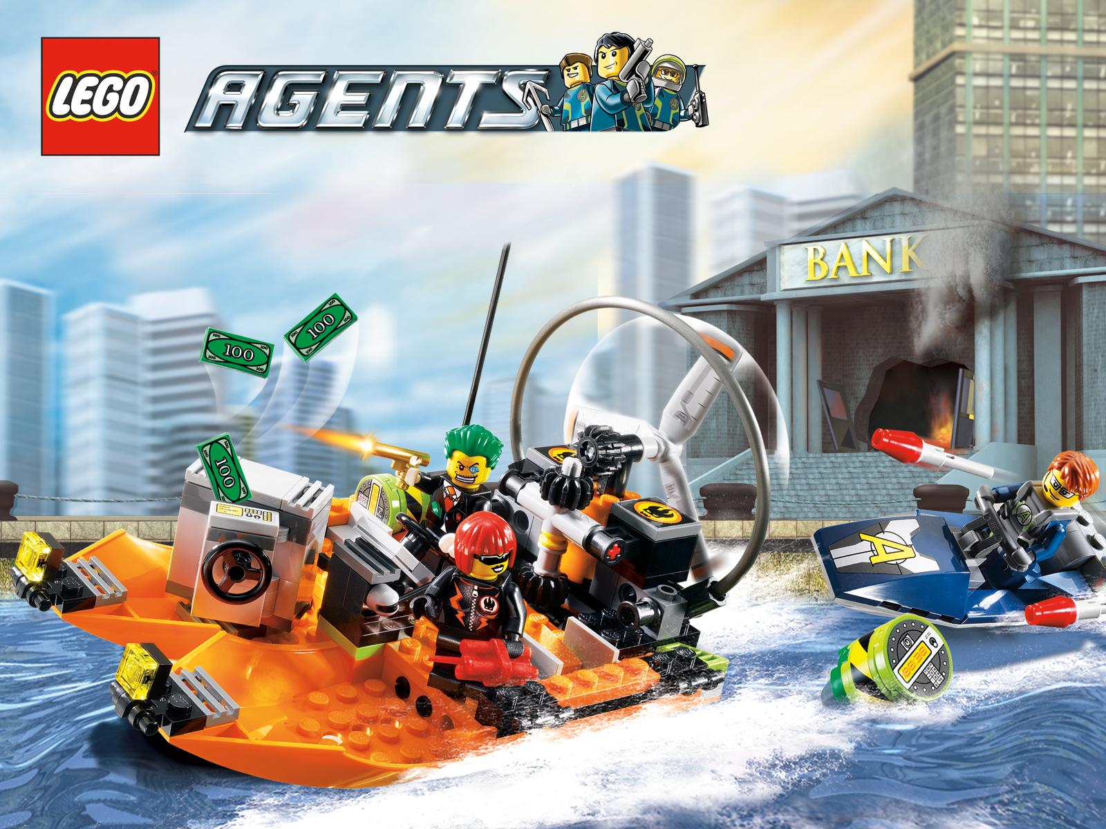 Resultado de imagem para lego agents 8968