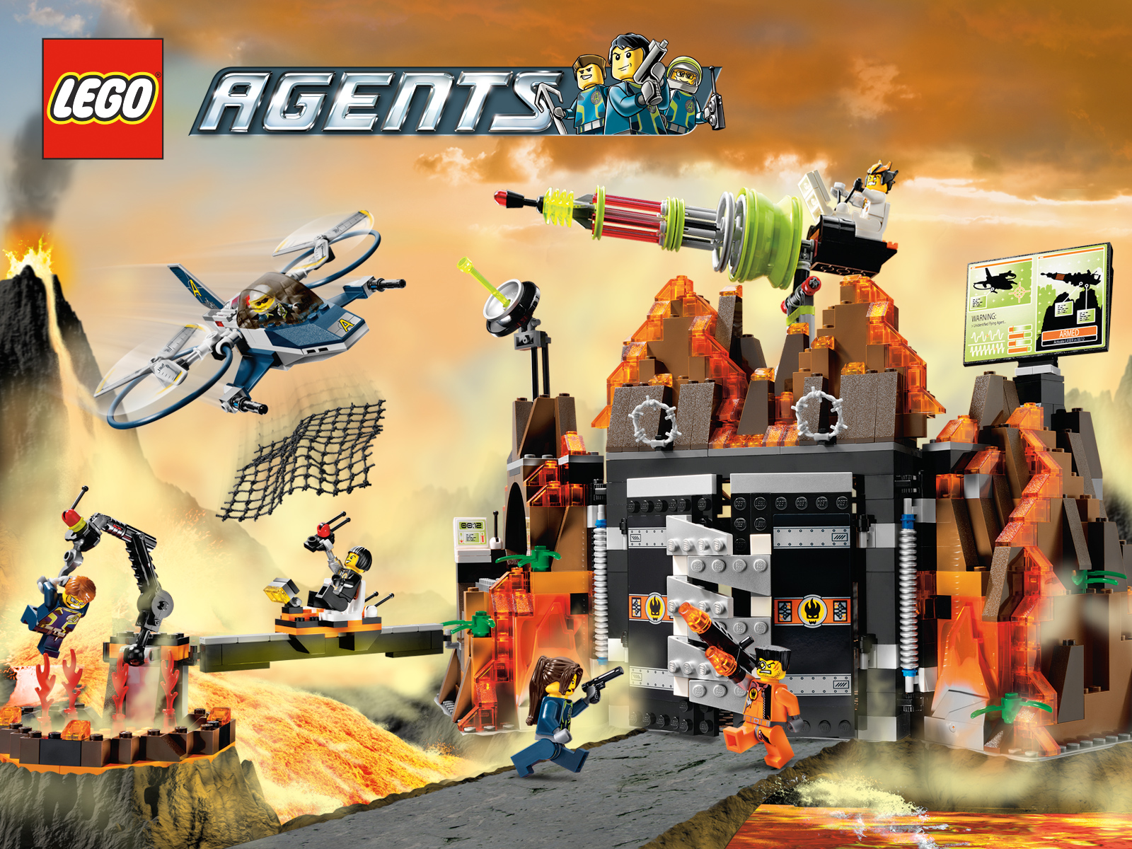 lego agents free desktop wallpapers for widescreen hd and mobile. Black Bedroom Furniture Sets. Home Design Ideas