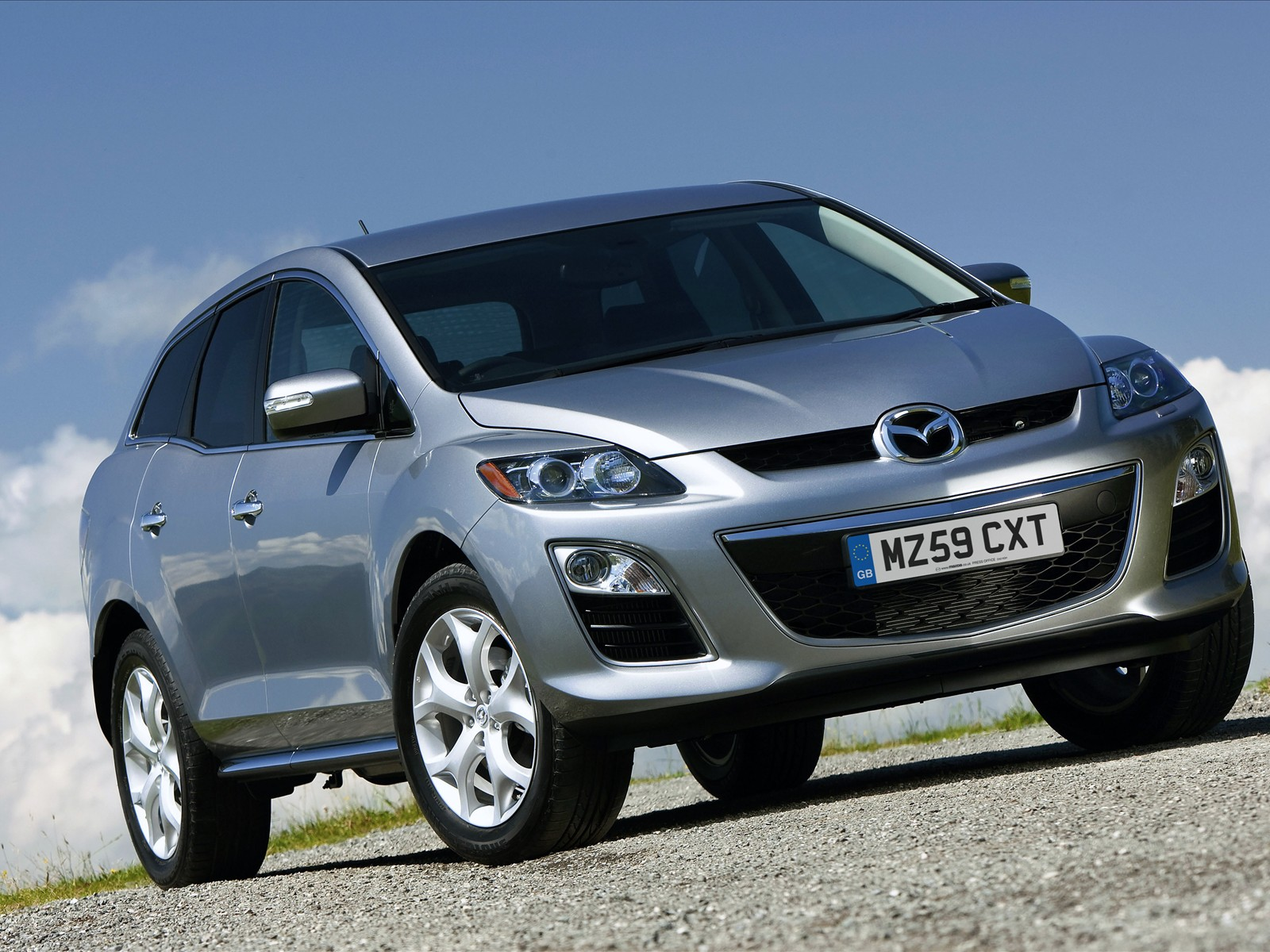 mazda cx 7 sports crossover 2010 03 free desktop. Black Bedroom Furniture Sets. Home Design Ideas